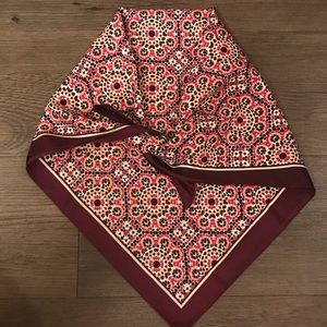 Patterned Silky Scarf